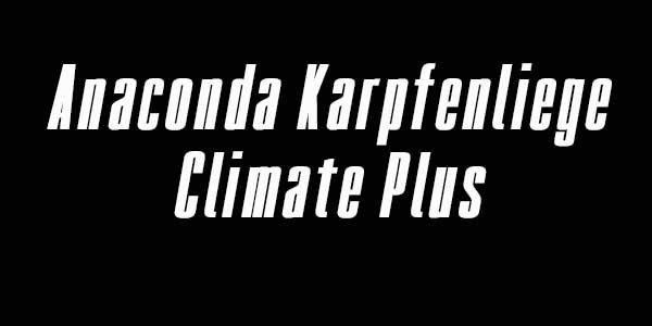 Anaconda Karpfenliege - Climate Plus